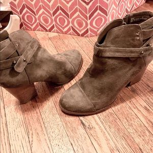 Taupe Harlo Booties